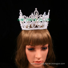 clear rhinestone crown