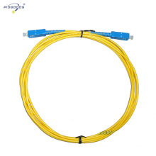 SC/UPC fiber optic patch cords,single mode,simplex/duplex fiber 0.2dB insertion loss
