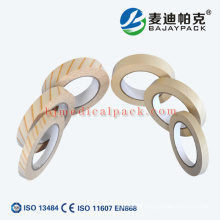Medical sterile tape,Autoclave indicator tape for medical usage