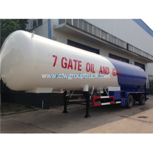 Factory Semi 30tons Lpg Tank Trailer
