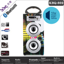 Professional coloful wooden mini digital sound speaker box