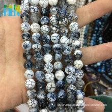 Top Quality 10mm Natural Black Jasper Semi Precious Gemstone Beads