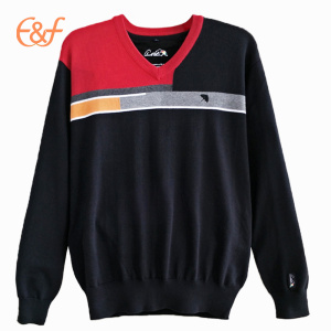Fashion Mens  Sweater Multicolor Pullover Sweater