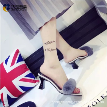 One font Rabbit hair slippers nude indian girls picture for women
