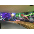 Display a LED curvo per concerti