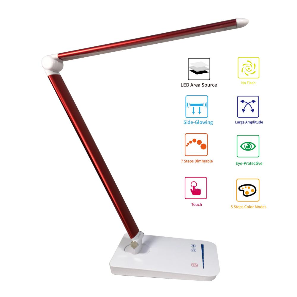 Lampe de bureau pliante LED Lampe de table Lampe de travail