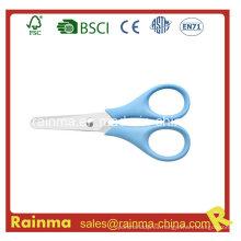 Promoción de seguridad de plástico mini tijeras para niños
