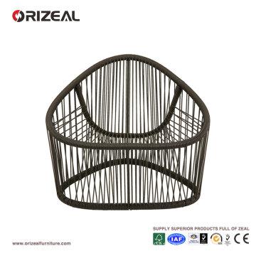 Outdoor Club Armchair with PVC Thread OZ-OR050