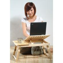 Escritorio de PC en la cama, escritorio de la PC portátil, escritorio de enfriamiento del ordenador portátil