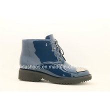 Cool Fashion Comfort Women Botas de tornozelo de couro
