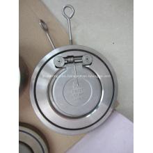 Válvula de retención de solapa de placa única