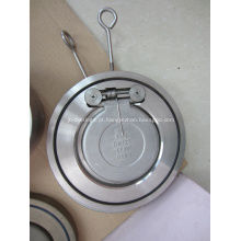 Válvula de retenção de aba de placa única