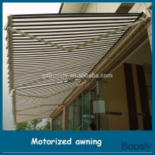 Telescopic type electric Outdoor canopy awning