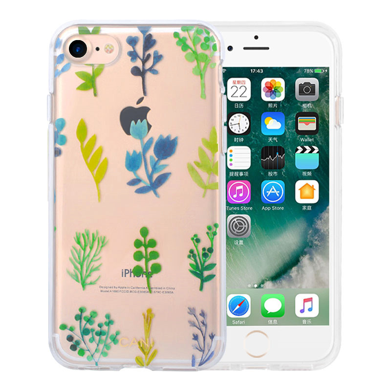 Transparent IMD iPhone8 Plus Cover