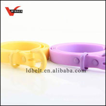 Customized fashion webbing & pu belts