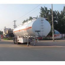 11m Aluminum Alloy Flammable Liquid Transport Semi-trailer