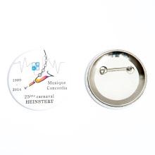 Musique Carnival Tin Button Badge en Impreso De China