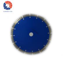 blue high frequency vitrified brick diamond blade