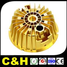 CNC Torno Serviço de usinagem de precisão de metal para peças de máquinas Customzied