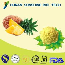 Горячая продажа 100% органические чистый натуральный экстракт ананаса бромелайн порошок