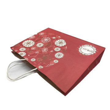 Printing packaging plain brown kraft paper bags