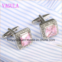 VAGULA Luxury Stylish Men French Shirt Zircon Cuff Links 337