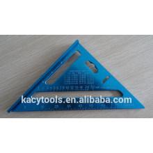 Regla de triángulo de aluminio, triángulo de aluminio regla cuadrada