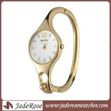 Luxus-Legierung Quarz Damen-Bracllet Uhr