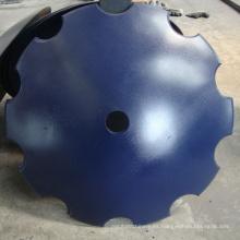Discos cóncavos con muescas de acero de 20 pulgadas y 65MN
