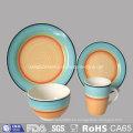 Vajilla de cerámica de la placa de cena de la venta caliente