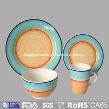 Vaisselle en céramique de plat de vente chaude de vente