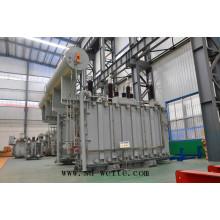 Trifásico, dos o tres devanados y regulación de tensión en carga Transformador de potencia del fabricante de China para la fuente de alimentación