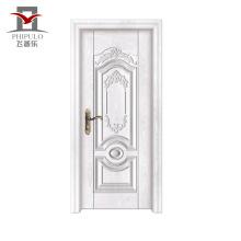 Porte d'entrée en bois en acier à extrémité élevé largement acceptée de restaurant en acier d'OEM