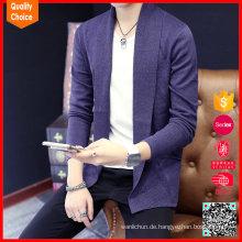 100% Baumwolle Man Mode maßgeschneiderte Strickpullover