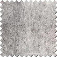 Tejido de algodón negro de poliéster de algodón para Jeans