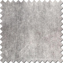 Black Cotton Polyester Denim Fabric for Jeans