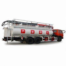 Tank Truck/Tanker with 15,500kg Rated Loading, 15,500kg, Customized Specifications Accepted