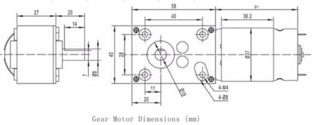 DC Motor 24V