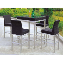 Bar Furniture Outdoor Rattan Bar Table Bar Stools