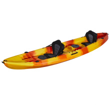 2017 most popular double seater plastic sit on top fishing kayak on sale