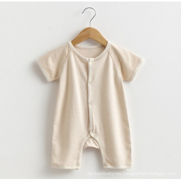 Summer Organic Cotton Baby Romper Infant Clothes