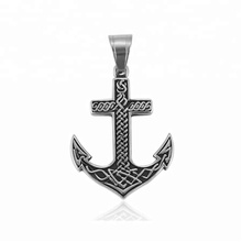 33445 xuping fashion Stainless Steel jewelry Viking Anchor shape cross pendant