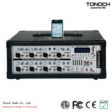 8 Channel Power Box Sound Console Desk