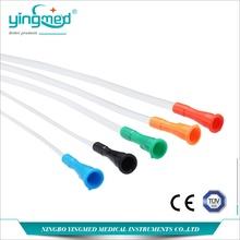 Cathéter jetable médical de nelaton de PVC