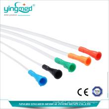 Catéter médico desechable de PVC Nelaton