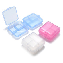 Plastic Pillbox With 3 Compartments With Printed Logo