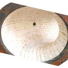 Tubo revestido de cerâmica resistente ao desgaste