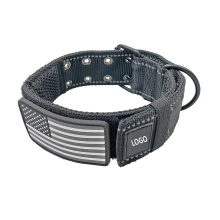 Tactical Dog Collar for Military Training