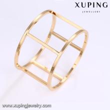 51665 Werbeartikel mode hochwertige spezielle form saudi gold armband schmuck für frauen