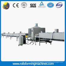 Steel colorful Stone Chip Coated Roofing Tile Machine